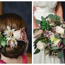 little botanica natural wedding flowers