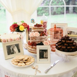 Three Sisters Bake Wedding Cake