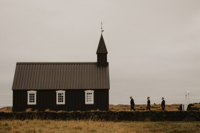 church wedding iceland