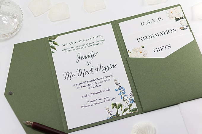 Wedding Invitations England: Com Bossa Wedding Invitations