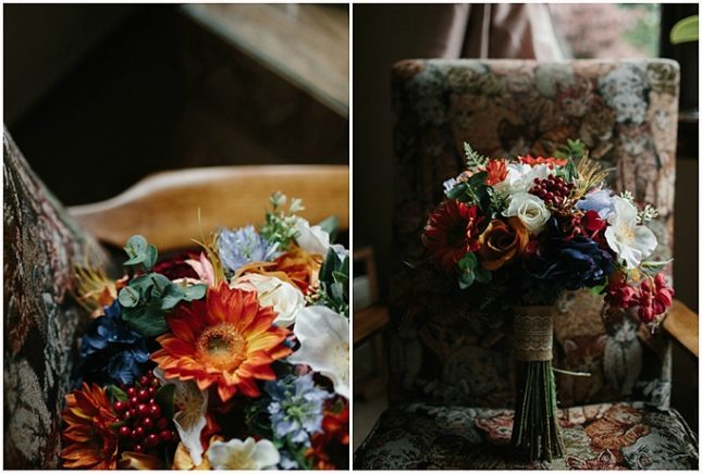 faux wedding flowers