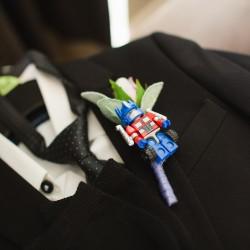 silk, faux flowers, wedding buttonhole