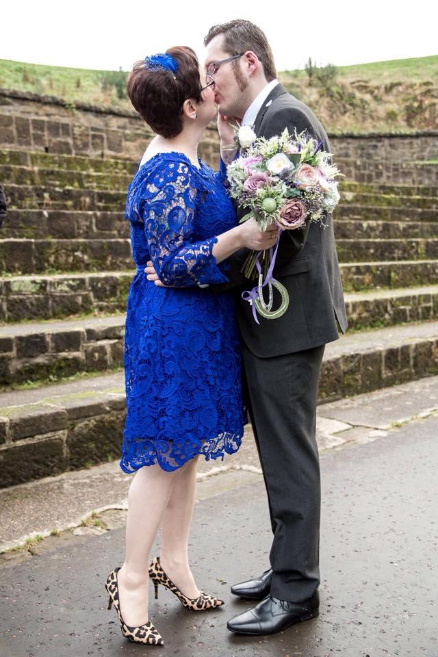 silk, faux flowers, wedding bouquet