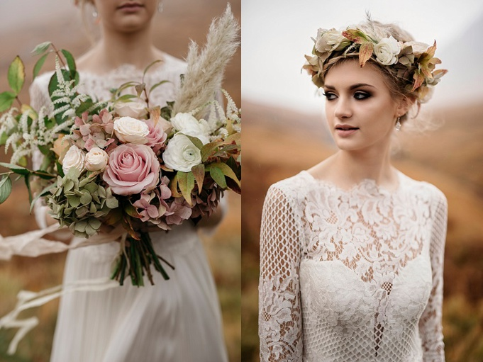 Alternative Wedding Flowers Scotland
