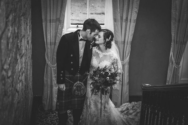 creative wedding florist scotland