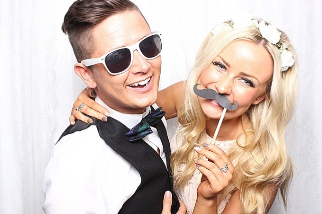 wedding photo booth scotland