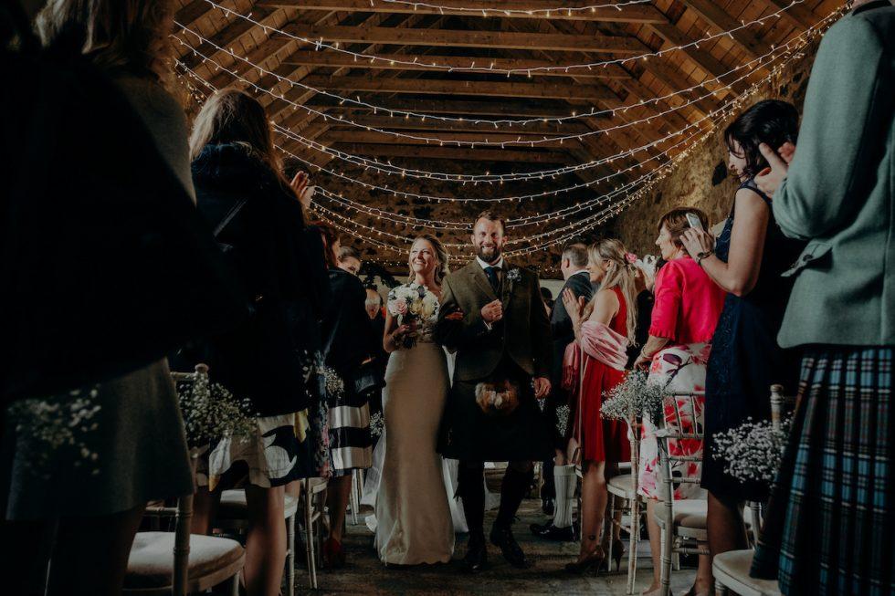 Unique Wedding Venues Scotland Cow Shed Crail Fife