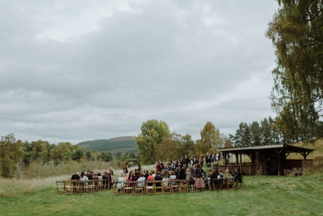 wedding venues scotland Inscriach House Kitchener