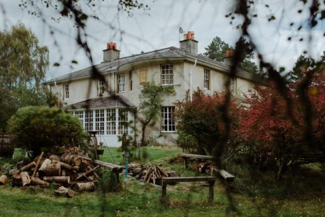 wedding venues scotland Inscriach House Kitchener 2