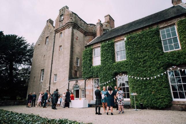 balbegno castle; balbegno castle weddings; donna murray photogra