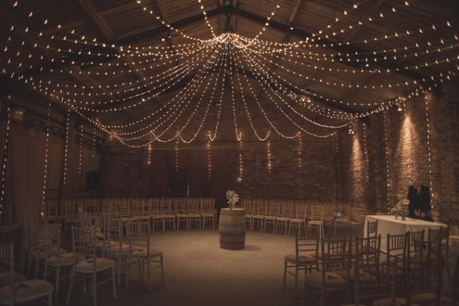 kinkell byre unique wedding venue scotland rustic barn wedding