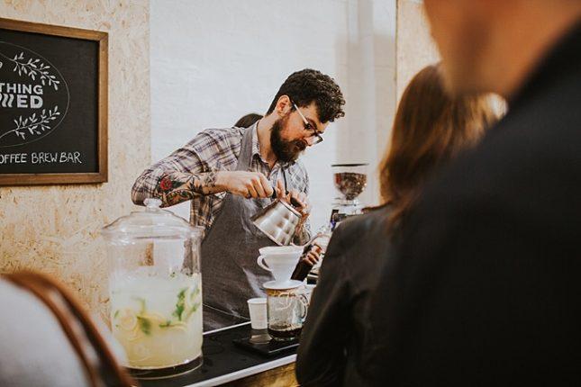 unique wedding catering