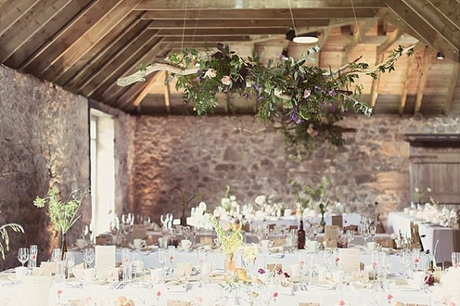 barn wedding venue scotland