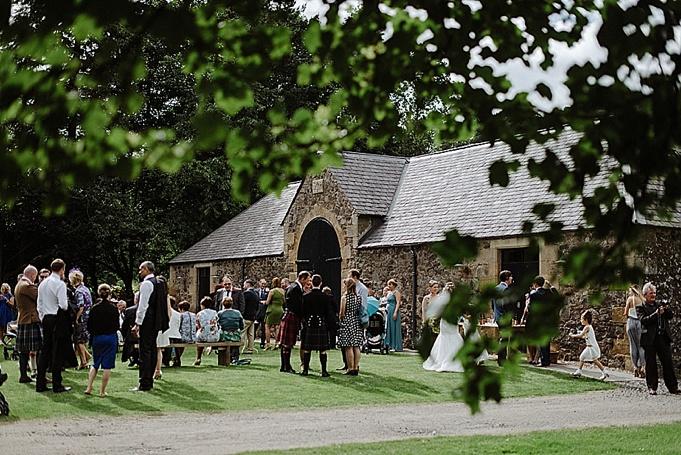 barn wedding venue scotland