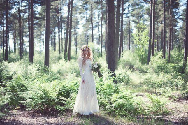 vintage wedding dress scotland