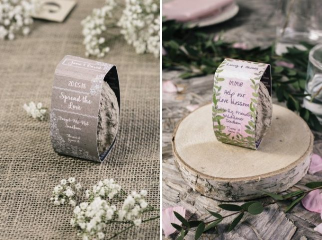alternative wedding favours