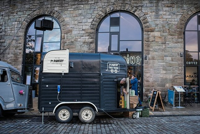 street food catering scotland