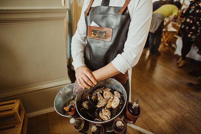 wedding oyster