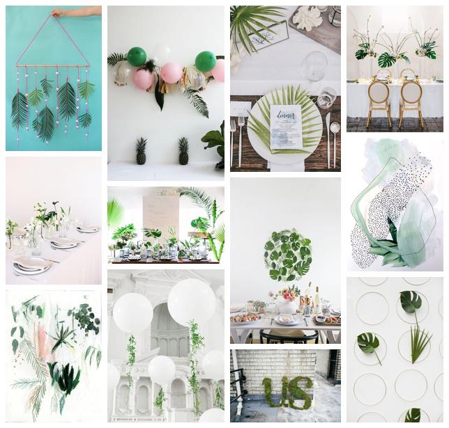 greenery wedding trend
