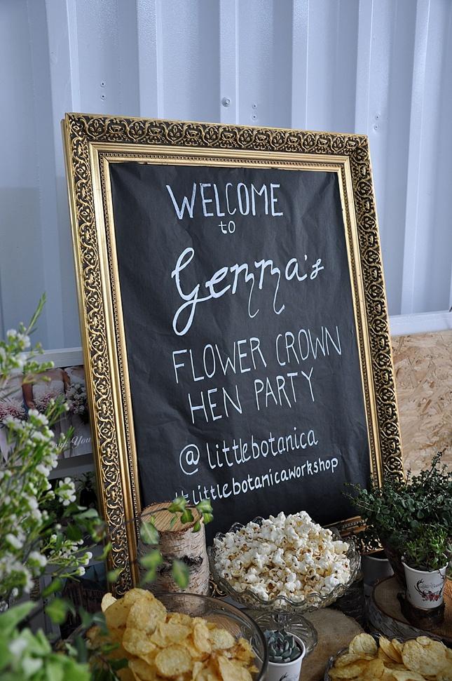 Flower Crown Hen Party