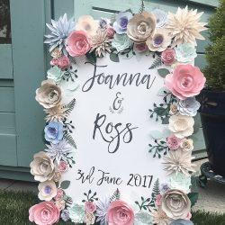 design led wedding stationery