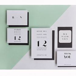 wedding stationery and favours