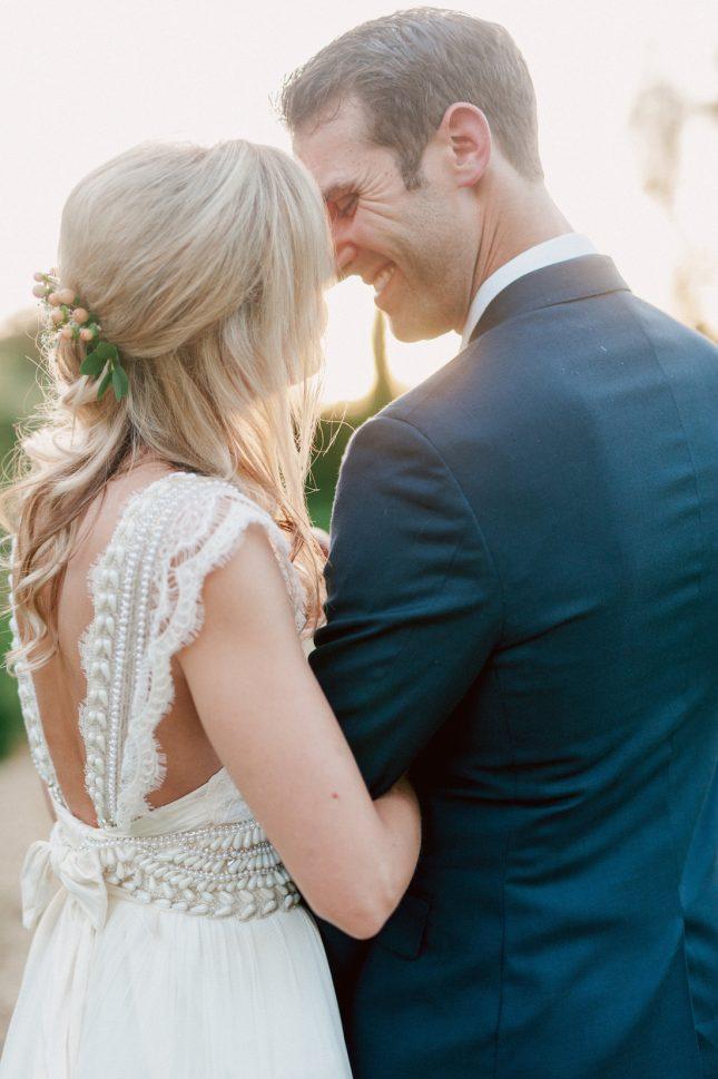 Anna Campbell Embellished Bow Back Dress