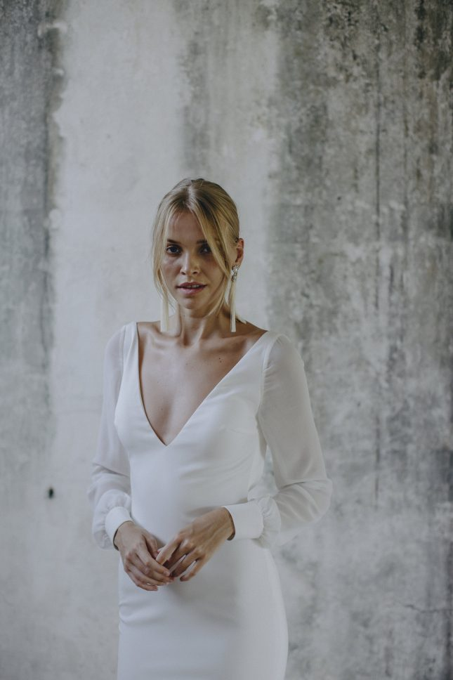 alternative wedding dress Made With Love Unbridaled Boutique Scotland Georgie