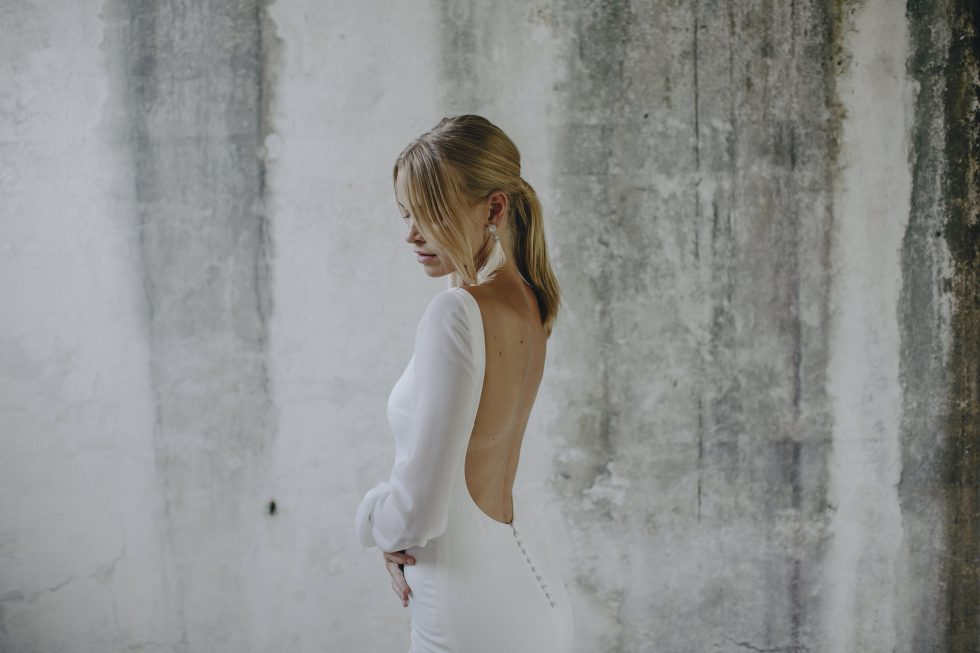 alternative wedding dress Made With Love Unbridaled Boutique Scotland Georgie