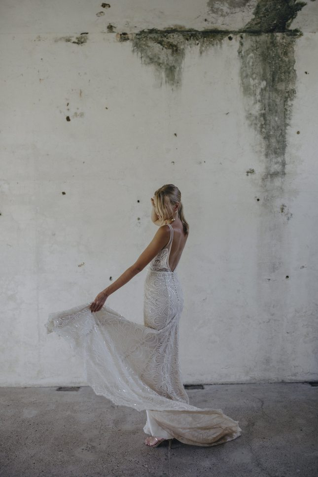 alternative wedding dress Made With Love Unbridaled Boutique Scotland Harlie