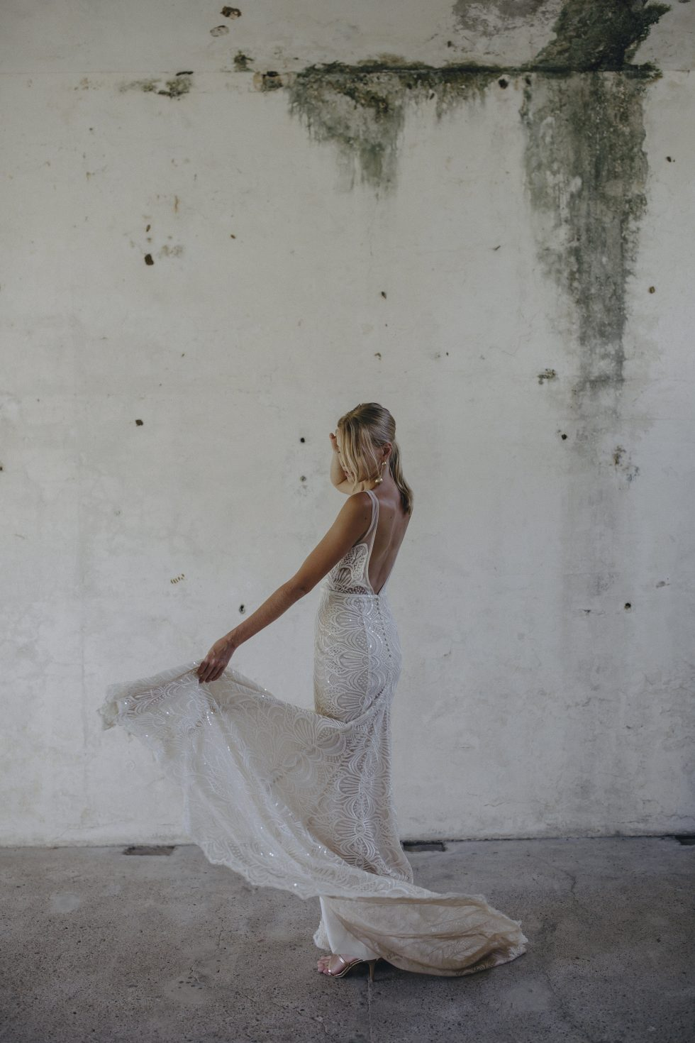 alternative wedding dress Made With Love Unbridaled Boutique Scotland Harlie