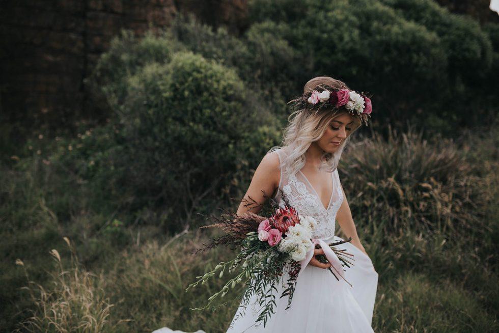 alternative wedding dress Made With Love Unbridaled Boutique Scotland Sofia