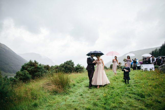 Wes Anderson Scottish Highlands Mhor Wedding