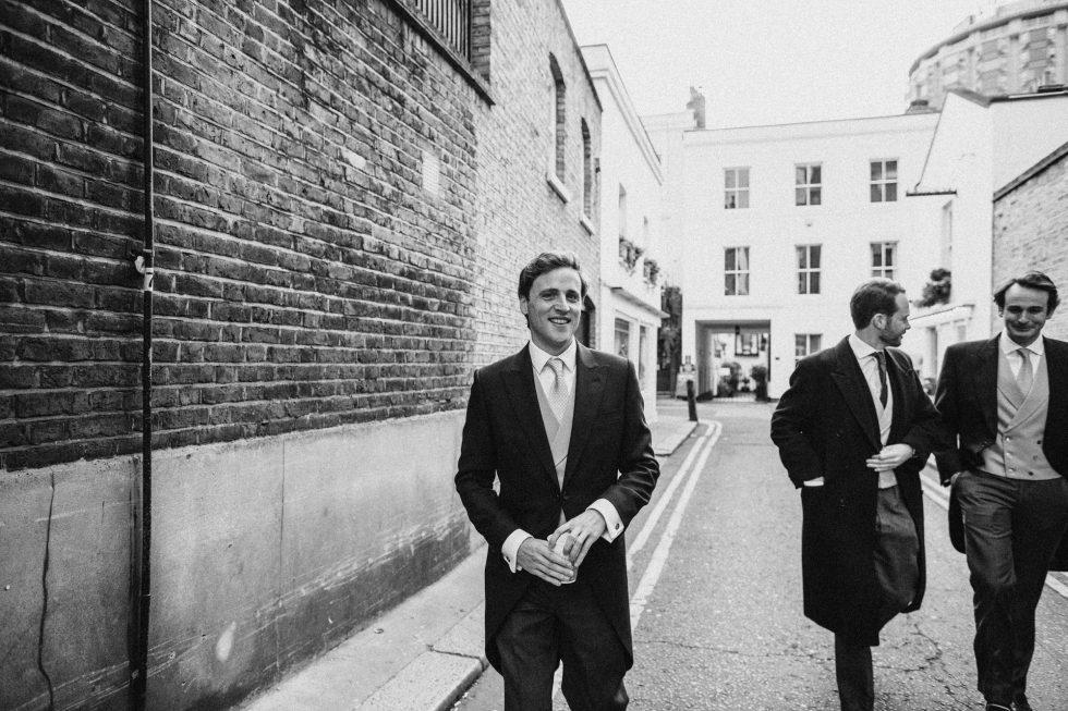 stylish mayfair London winter wedding