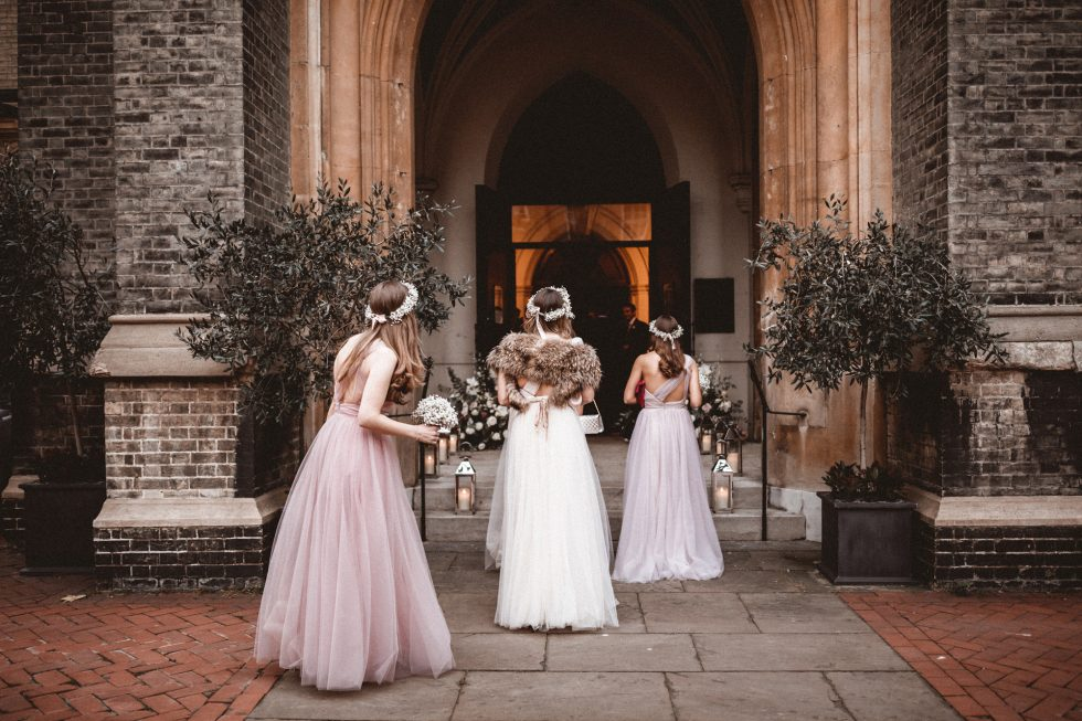 stylish mayfair London winter wedding