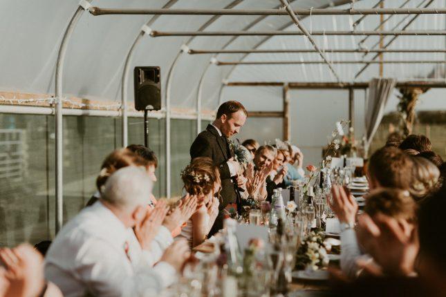 boho wild rustic barn wedding
