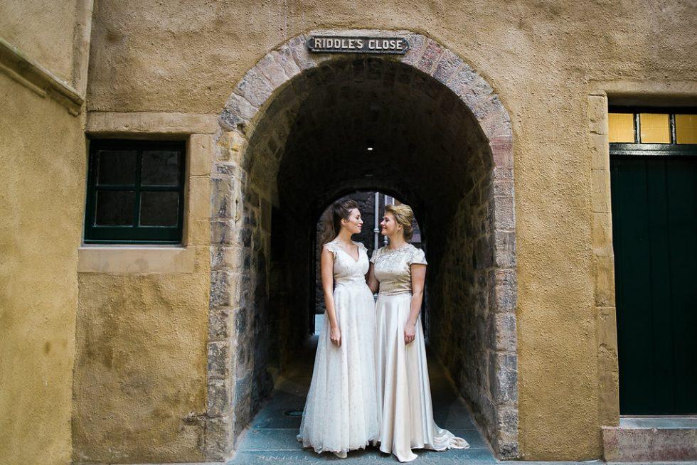 edinburgh city same sex wedding charm