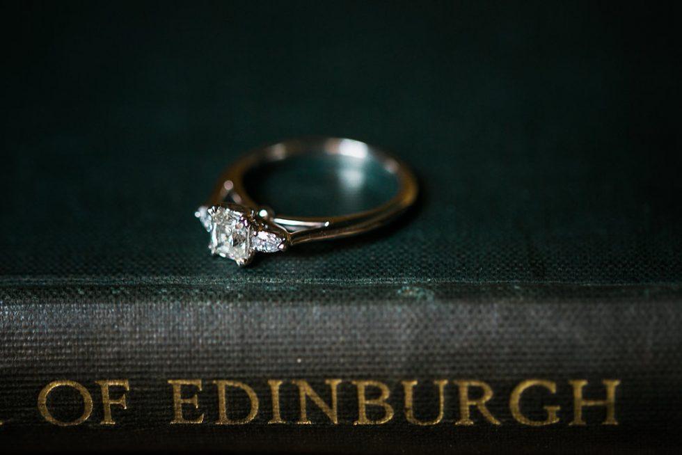 edinburgh city wedding charm