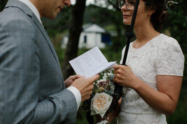 wild scottish intimate elopement