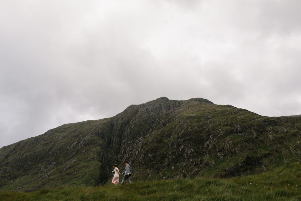 wild scottish intimate elopement
