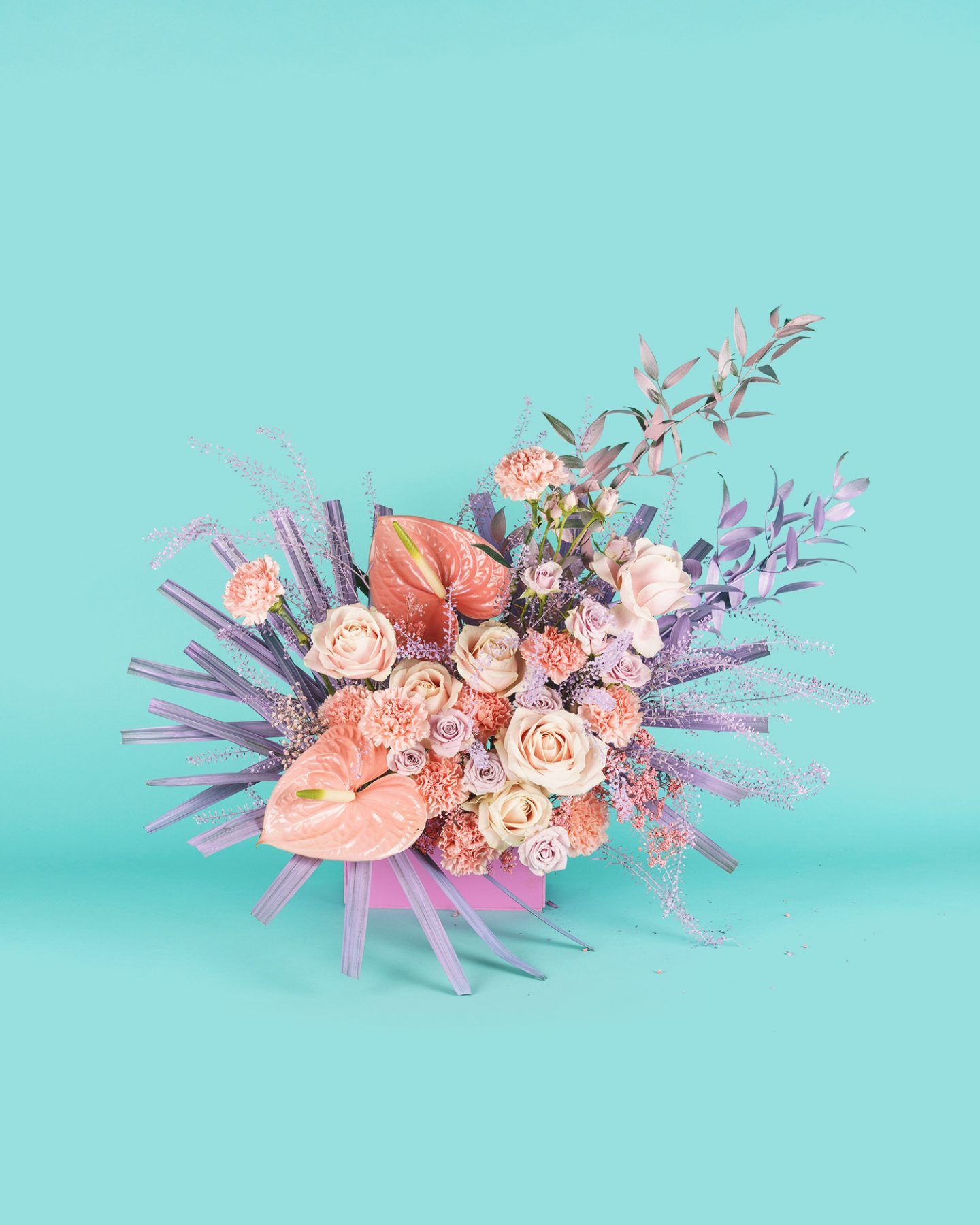 0963487aede Vulgar and Vogue-ish  Modern Wedding Flowers - The Wedding Collective